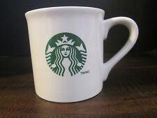 Starbucks mug off white large green mermaid 14 fl oz dated 2013 coffee kitchen