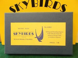 Skybirds Models. Set No 8.  Airport Sitting And Standing Figures.