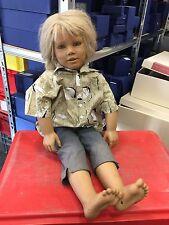 "Annette Himstedt Puppe "" Kasimir "" 75 cm. Sehr selten."