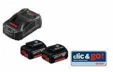 Bosch Akku-Set Clic & Go 18 V, 2 x GBA 6,0 Ah, GAL 1880 CV 1600A00B8L