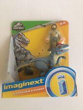 Imaginext Jurassic World 2019 Allosaurus & Ranger Set New