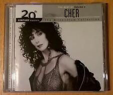 The best Of CHER Volume 2 20th Century Masters The Millenium Collection CD neuf