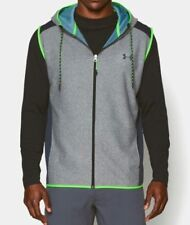 Men's Under Armour ColdGear Infrared Fleece Hoodie Vest Size XL