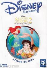 JEU PC CD ROM../...LA PETITE SIRENE 2.....RETOUR A L'OCEAN.../..DISNEY CLASSIQUE