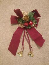 Hanging christmas ribbon decoration (GOOD CONDITION)