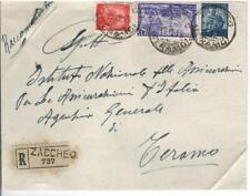 REPUBBL. ITAL. STORIA POSTALE BUSTA VIAG. ESPRESSO RISORGIMENTO 1948