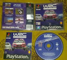 WRC FIA WORLD RALLY CHAMPIONSHIP - PlayStation 1 PS1 Gioco Game Play Station