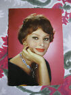 Photo carte postale vintage Sophia Loren N°82 Italcolor cinéma photo Sam-Levin