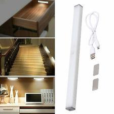 20LED Motion Sensor Closet Light Wireless Night Cabinet USB Rechargeable Indoor