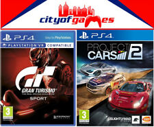 Gran Turismo Sport & Project Cars 2 PS4 Bundle In Stock