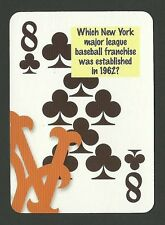 New York Mets Baseball Neat Playing Card #2Y6