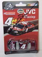 2008 DERRICK COPE AUTOGRAPHED SIGNED 1:64 NASCAR RACE CAR JVC RACING #4 WITH COA