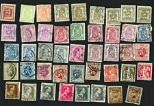 Belgium early stamps - lot of 44