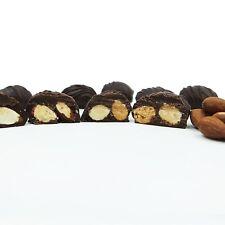 Philadelphia Candies Handmade Almond Clusters, Dark Chocolate Covered 1 Pound