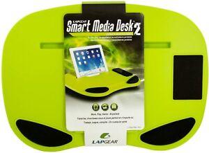 Lapgear Lap Desk Smart Media Desk II Green Laptop Work Play 91216