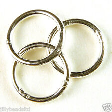 Jump Ring : 7mm : Pack of 50 available in various metal finishes