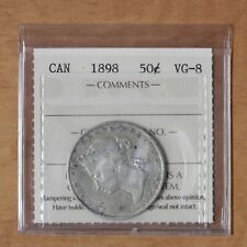 Canada - 1898 - 50 cents - ICCS VG8 - #2854