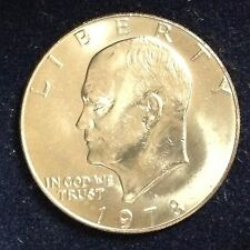 1977 $1 Eisenhower Dollar Ch BU