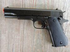 Replica Denix Black Finish M1911A1 Colt .45 Automatic Prop Gun Field Strippable