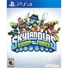 Skylanders Swap Force Video Game Only for PS4 (Sony PlayStation 4, 2013)