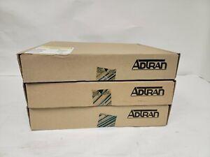 Lot of 3 NEW Adtran Smartshelf 1202066L1 T1 ESF CSU Smart Controllers 2nd Gen