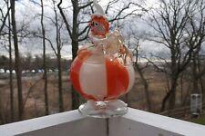 MURANO ART GLASS BARBINI  CLOWN.