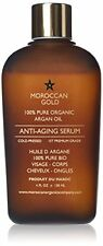 Moroccan gold pure organic argan oil anti-ageing serum cold pressed 120ml