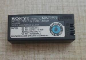 Genuine Sony NP-FC10 Battery