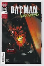 THE BATMAN WHO LAUGHS #7 MARVEL comics NM 2019 Scott Snyder Jock