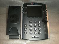 Polycom VVX400 Desktop IP Business Phone - 2201-46104-001 Base ONLY NO HANDSET