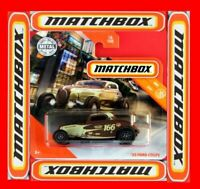 MATCHBOX 2019  ´33 FORD COUPE  16/100   NEU&OVP