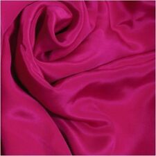 3 Yards 12mm Pure Silk Crepe De Chine Cloth Material Lightweight Dark Azalea