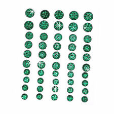 CB70GR - 50 Self Adhesive Crystal Diamante Rhinestone Stick on Moon Rock Gems