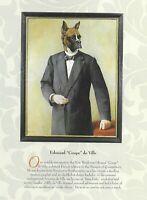 """Boxer """"Cropped"""" - Vintage Dog Art Print - Poncelet"""