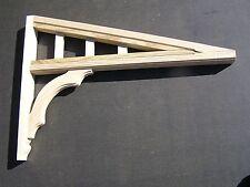 Wooden Verandah Bracket / Door Awning Bracket - 680mmH x 940mmW x 66mm