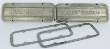 ALFA ROMEO ALFASUD 33 ALUMINIUM ROKER COVERS WITH 2 GASKETS