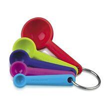 ANTIADERENTE SILICONE cucchiai di misurazione-Set di 5 colorati