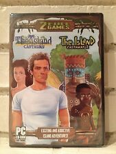 island castaway + island castaway 2 -- 2 action adventure computer games -- new