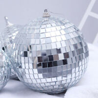 6pcs Disco Ball Xmas Tree Decor Mirror Party Christmas Ornament Decoration Balls