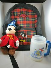 Mickey Mouse Disney Lot Backpack Cup Mug Plush
