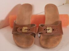 Vintage Dr. Scholls Wood Exercise Sandals Made in Austria Size 7