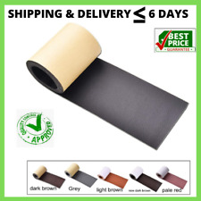Leather Tape 3X60 Inch Self-Adhesive Genuine Leather Repair Patch for Sofas,