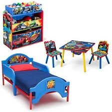 Nick Jr. Blaze and the Monster Machines Bedroom Set With BONUS Toy Organizer