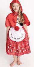 BNWT Little Red Riding Hood  Fancy Dress up costume -3-4 Yrs World Book Day