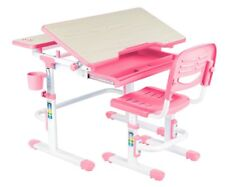 Kinderschreibtisch höhenverstellbar mit Stuhl FUN DESK LAVORO *PINK