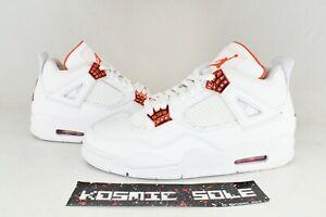 Nike Air Jordan 4 Retro Metallic Orange Style # CT8527-118 Size 9