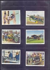 Lovely Set of 48 Churchman The R.A.F at Work 1938 All fronts scanned   RA1