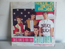 NEW KIDS ON THE BLOCK This one's for the children BLOCK 9 Sticker promo devant