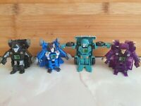 Hasbro Transformers Bot Shots X 4