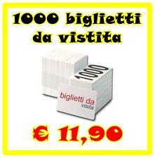 1000 BIGLIETTI DA VISITA 300 GR. STAMPA FRONTE